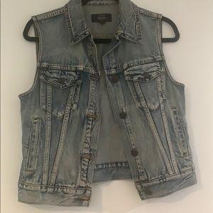 Jcrew Jean Vest